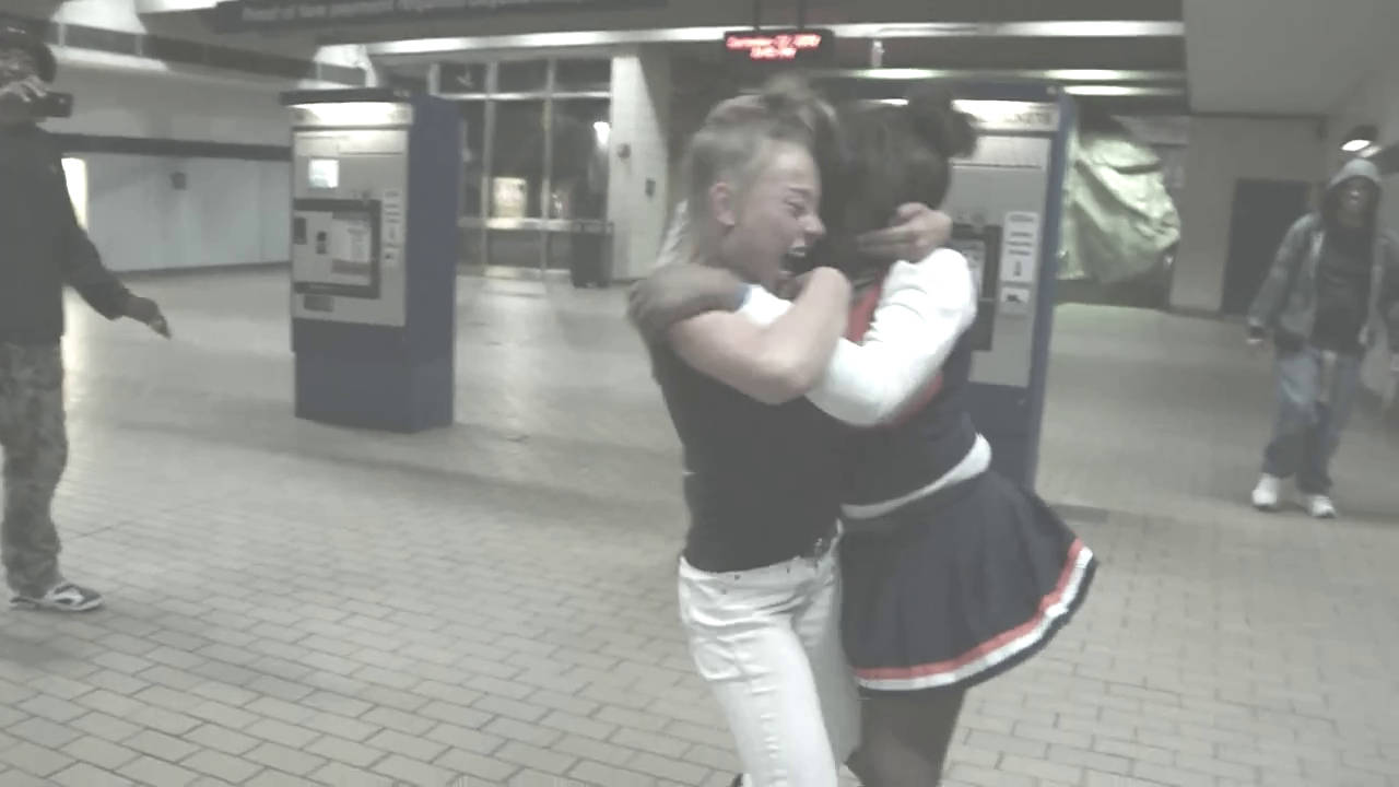 Train Station Catfight Catfightrules  Catfight Rules-7681